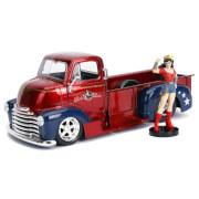 Jada Diecast 1:24 1952 Chevy COE Pickup with Wonder Woman Figure