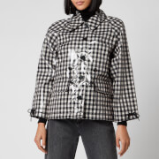 Barbour X Alexa Chung Women's Minnie Casual Jacket - Northumberland Check - UK 8