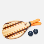 Frescobol Carioca Men's Leblon Beach Bat Set - Orange