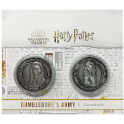 Harry Potter Dumbledore Army Collectible Coin Set : Hermione And Ginny