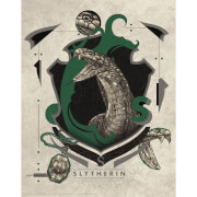 Harry Potter Art Print : Slytherin Crest