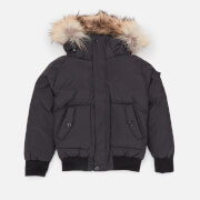Pyrenex Boys' Jami Fur Jacket - Black - 8 Years