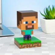 Minecraft Steve Icon Light
