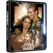 Star Wars EP II: Angriff der Klonkrieger - Zavvi Exklusives 4K Ultra HD Steelbook (3 Disc Edition inkl. Blu-ray)
