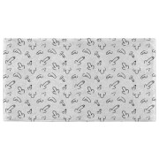 Hand Towels Willy Pattern Hand Towel
