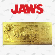 Jaws 24k Gold Plated Annual Regatta Entry Limited Edition Replica Ticket - Zavvi Exclusive