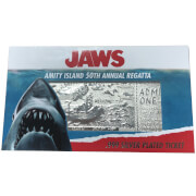Jaws 24k Silver Plated Annual Regatta Entry Replica Ticket