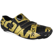 Bont Riot+ Road Shoes - Black/Gold - EU 48