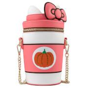 Loungefly Hello Kitty Pumpkin Spice Kitty Cup Crossbody Bag