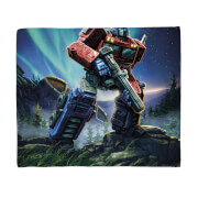 Transformers Optimus Prime Fleece Blanket