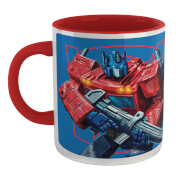 Transformers Optimus Prime Mug - White/Red