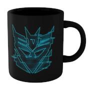Transformers Decepticon Glitch Mug - Black