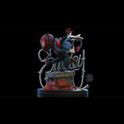 Quantum Mechanix Marvel Miles Morales Q-Fig Elite Diorama