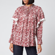 See By Chloé Women's Peonie Blouse - Red White - XS