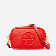 Tory Burch Women's Perry Bombe Pieced Strap Mini Bag - Brilliant Red