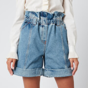 Philosophy di Lorenzo Serafini Women's Denim Shorts - Blue - IT 38/UK 6