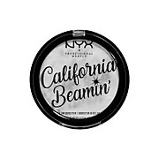 nyx professional makeup california beamin' illuminating face and body powder glow booster