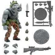 Super7 Teenage Mutant Ninja Turtles ULTIMATES! Figure - Rocksteady