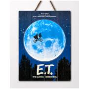 Poster 3D E.T. l'extra-terrestre - Doctor Collector WoodArts 3D