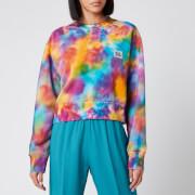 Golden Goose Deluxe Brand Women's Alisia Boxy Sweatshirt - Acquamarine/Golfinch/Fucsia - XS