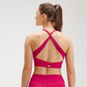 MP Women's Power Cross Back Sports Bra - Virtual Pink