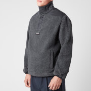 Napapijri X Martine Rose Men's T-Crantock Sherpa Fleece - Cloud Grey - S