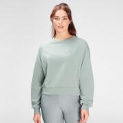 MP Women's Composure Sweatshirt- Washed Green