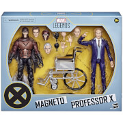 Hasbro Marvel Legends Series - Figurines Magneto et Professor X