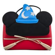 Loungefly Disney Fantasia Sorceror Mickey Cosplay Crossbody Bag
