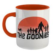 The Goonies Never Say Die Mug - White/Orange