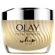 Купить Olay Total Effects Whip Light as Air SPF30 Moisturiser with Vitamin C and E Cream for Healthy-Looking Skin 50ml