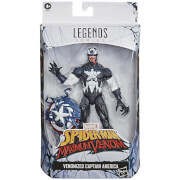 Hasbro Marvel Legends Spider-Man Venomized Captain America Action Figure