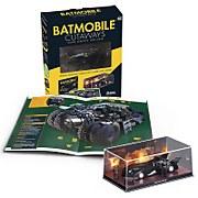 Eaglemoss DC Comics Batmobile Cutaways: Movie Vehicles 1989 Special Edition Paperback plus Collectible
