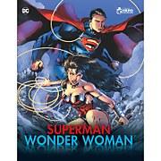 Eaglemoss DC Comics Guide illustré Superman et Wonder Woman, 2 figurines inclues