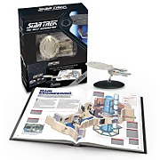 Eaglemoss Star Trek The Next Generation: The U.S.S. Enterprise NCC-1701-D Illustrated Handbook Plus Collectible Hardcover