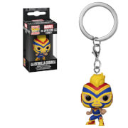 Marvel Luchadores Captain Marvel Pop! Keychain
