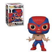Figura Funko Pop! - Spider-man (El Aracno) - Marvel Luchadores