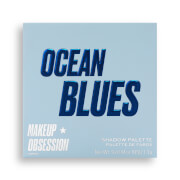 Makeup Obsession Eye Shadow Palette - Ocean Blues
