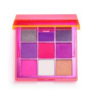 Makeup Revolution Viva Neon Eye Shadow Palette - Party Vibes