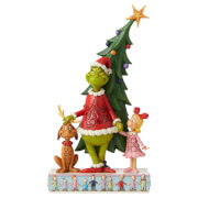 The Grinch By Jim Shore Grinch Decorating Tree Fig