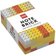 LEGO Note Brick - Yellow/Orange