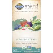 mykind Organics Mens 40 Multi 120ct Tablets
