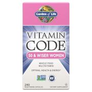 Vitamin Code 50 and Wiser Women 240ct Capsules