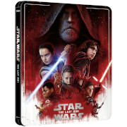 Star Wars Episode VIII: The Last Jedi - Zavvi Exclusive 4K Ultra HD Steelbook (3 Disc Edition includes Blu-ray)