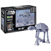 Revell Gift Set - AT-AT (The Empire Strikes Back 40th Anniversary) Model (Scale 1:53)