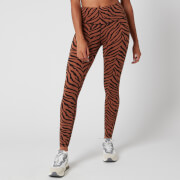Varley Women's Century Leggings 2.0 - Clay Zebra - XS