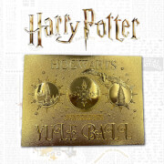 Harry Potter 24K Gold Plated Yule Ball Ticket Limited Edition Replica - Zavvi Exclusive