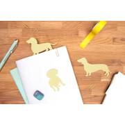 Dog Shaped Sticky Notes