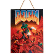 Doctor Collector DOOM Classic Wood Art - Limited Edition