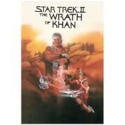 Star Trek Graphic Novels Wrath Of Khan Poster